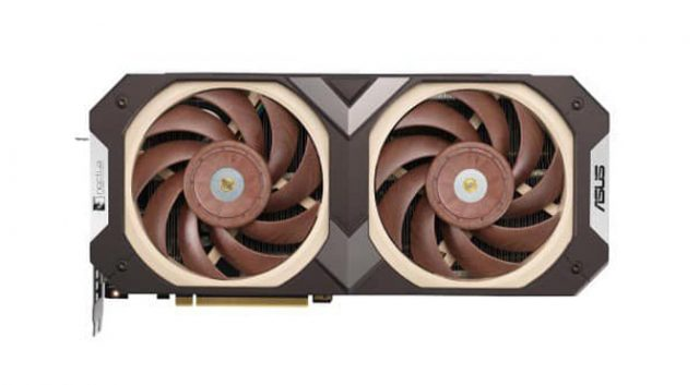 Leaked Asus x Noctua RTX 3070 Is As Brown As You'd Expect